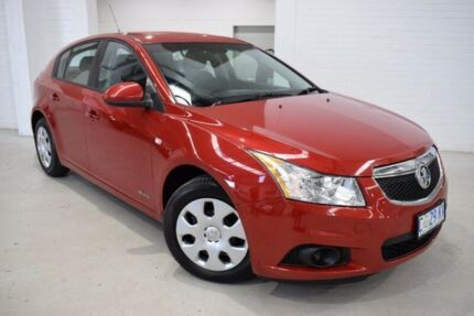 2012 Holden Cruze JH Series II MY12 CD Red 6 Speed Sports Automatic Hatchback West Launceston Launceston Area Preview