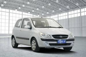 2010 Hyundai Getz TB MY09 SX Space Silver 5 Speed Manual Hatchback