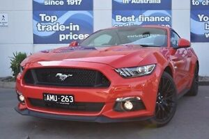 2016 Ford Mustang FM MY17 GT Fastback Red 6 Speed Manual Fastback Epping Whittlesea Area Preview