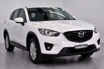 2014 Mazda CX-5 KE1072 Maxx White Sports Automatic Wagon Lansvale Liverpool Area Preview