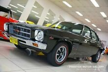 1974 Holden Monaro HQ GTS Black 4 Speed Manual Sedan Carss Park Kogarah Area Preview