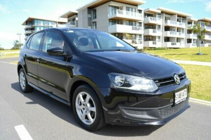 2012 Volkswagen Polo 6R MY12.5 77TSI DSG Comfortline Black 7 Speed Sports Automatic Dual Clutch Somerton Park Holdfast Bay Preview