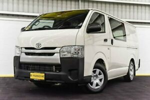 2016 Toyota HiAce KDH201R LWB White 4 Speed Automatic Van Canning Vale Canning Area Preview