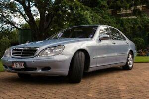 2001 Mercedes-Benz S-Class V220 S500 L Horizon Blue 5 Speed Automatic Sedan Newstead Brisbane North East Preview