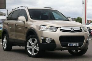 2012 Holden Captiva CG Series II 7 AWD LX Gold 6 Speed Sports Automatic Wagon Mill Park Whittlesea Area Preview