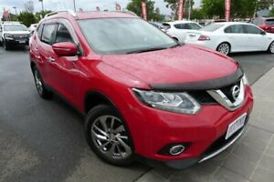 2014 Nissan X-Trail T32 TL X-tronic 2WD Red 7 Speed Constant Variable Wagon