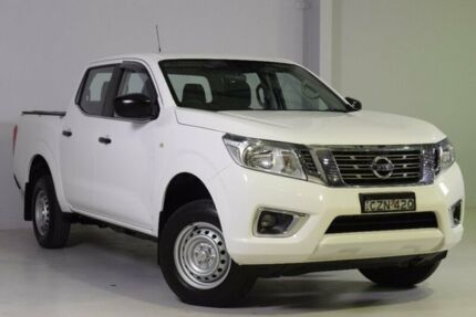 2015 Nissan Navara D23 DX 4x2 White 6 Speed Manual Utility Wadalba Wyong Area Preview