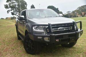 2019 Ford Ranger PX MkIII 2019.00MY XLT Silver 10 Speed Sports Automatic Double Cab Pick Up St Marys Mitcham Area Preview
