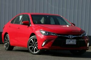 2017 Toyota Camry ASV50R Atara SX Red 6 Speed Sports Automatic Sedan Oakleigh Monash Area Preview