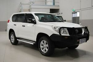 2012 Toyota Landcruiser Prado KDJ150R GX White 5 Speed Sports Automatic Wagon Kenwick Gosnells Area Preview