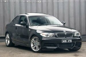 2011 BMW 135I E82 LCI MY11 M Sport Black 6 Speed Manual Coupe Ringwood East Maroondah Area Preview