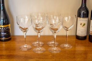 Krosno Silhouette Red Wine glasses - 6 Clarkson Wanneroo Area Preview