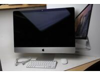 "Apple iMac 27"" newer 5k model high spec fusion and warranty until Dec 2018 Radeon M390 Boxed"