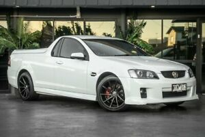 2009 Holden Ute VE MY09.5 SV6 White 5 Speed Sports Automatic Utility