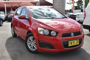 2014 Holden Barina TM MY15 CD Red 6 Speed Automatic Hatchback Tuggerah Wyong Area Preview