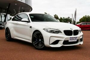 2017 BMW M2 F87 LCI D-CT White 7 Speed Sports Automatic Dual Clutch Coupe Wangara Wanneroo Area Preview