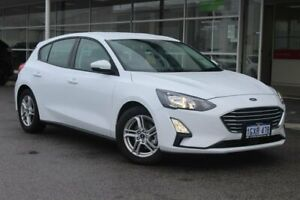2019 Ford Focus SA 2019.75MY Trend Frozen White 8 Speed Automatic Hatchback Osborne Park Stirling Area Preview
