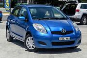 2011 Toyota Yaris NCP90R MY11 YR Blue 4 Speed Automatic Hatchback Southport Gold Coast City Preview