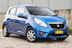2010 Holden Barina Spark MJ MY11 CD Blue 5 Speed Manual Hatchback Wyong Wyong Area Preview