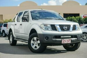 2008 Nissan Navara D40 RX Silver 5 Speed Automatic Utility Chinderah Tweed Heads Area Preview