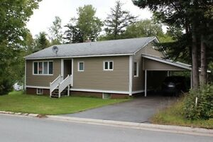 Three bedroom House and Land for Sale in Campbellton, NL