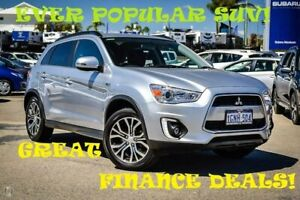 2016 Mitsubishi ASX XB MY15.5 LS 2WD Silver 6 Speed Constant Variable Wagon Greenfields Mandurah Area Preview