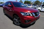 2017 Nissan Pathfinder R52 Series II MY17 Ti X-tronic 4WD Red 1 Speed Constant Variable Wagon Hoppers Crossing Wyndham Area Preview