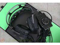 Razer Tiamat Gaming Headphones 7.1 full set