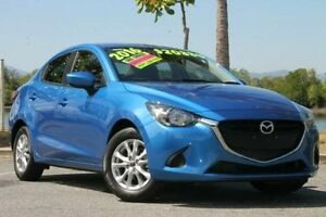 2016 Mazda 2 DL2SAA Maxx SKYACTIV-Drive Blue 6 Speed Sports Automatic Sedan Bungalow Cairns City Preview