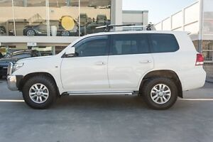2011 Toyota Landcruiser UZJ200R MY10 GXL White 5 Speed Sports Automatic Wagon Brookvale Manly Area Preview