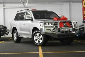 2018 Toyota Landcruiser VDJ200R GXL Silver 6 Speed Sports Automatic Wagon