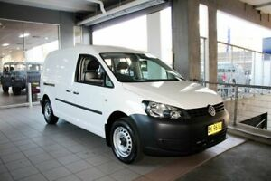 2012 Volkswagen Caddy 2K MY12 Maxi TDI250 White 7 Speed Auto Direct Shift Van Thornleigh Hornsby Area Preview
