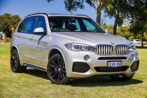 2014 BMW X5 F15 xDrive40d Silver 8 Speed Sports Automatic Wagon