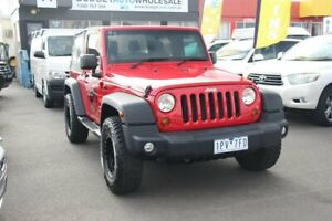 2011 Jeep Wrangler JK MY2011 Sport Red 6 Speed Manual Softtop Cheltenham Kingston Area Preview