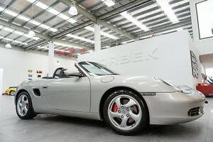 1999 Porsche Boxster S Arctic Silver 5 Speed Tiptronic Roadster Port Melbourne Port Phillip Preview
