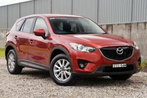 2013 Mazda CX-5 KE1071 MY13 Maxx SKYACTIV-Drive Sport Red 6 Speed Sports Automatic Wagon Wyong Wyong Area Preview