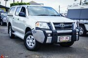 2006 Toyota Hilux GGN25R MY05 SR Silver 5 Speed Manual Utility Archerfield Brisbane South West Preview
