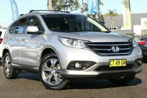 2014 Honda CR-V RM MY15 VTi 4WD Plus Silver 5 Speed Sports Automatic Wagon Condell Park Bankstown Area Preview