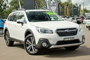 2019 Subaru Outback B6A MY19 2.5i CVT AWD Premium White 7 Speed Constant Variable Wagon McGraths Hill Hawkesbury Area Preview