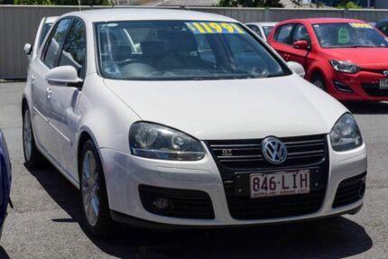 2008 Volkswagen Golf V MY08 GT DSG Sport Candy White 6 Speed Sports Automatic Dual Clutch Hatchback