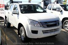 2015 Isuzu D-MAX MY15 SX Crew Cab Splash White 5 Speed Sports Automatic Utility Greenacre Bankstown Area Preview