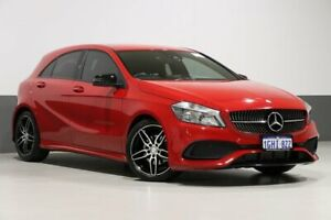 2017 Mercedes-Benz A200 176 MY17 Red 7 Speed Automatic Hatchback