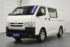 2016 Toyota HiAce KDH201R MY15 LWB French Vanilla 4 Speed Automatic Van Oakleigh Monash Area Preview