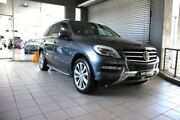 2012 Mercedes-Benz ML350 BlueEFFICIENCY 166 4x4 Grey 7 Speed Automatic Wagon Thornleigh Hornsby Area Preview
