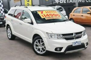 2014 Dodge Journey JC MY14 R/T White 6 Speed Automatic Wagon Watsonia Banyule Area Preview