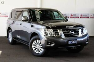2018 Nissan Patrol Y62 Series 3 Update TI-L (4x4) Gun Metallic 7 Speed Automatic Wagon Rockingham Rockingham Area Preview