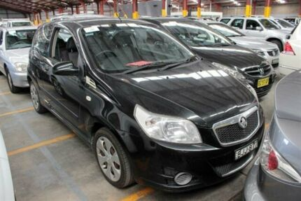 2009 Holden Barina TK MY09 TK MY09 Black 5 Speed Manual Hatchback Warabrook Newcastle Area Preview