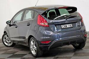 2013 Ford Fiesta WT Zetec PwrShift Grey 6 Speed Sports Automatic Dual Clutch Hatchback