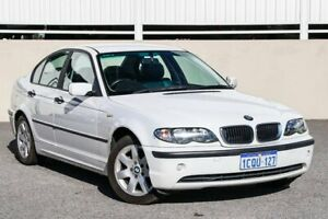 2004 BMW 318i E46 White 5 Speed Auto Steptronic Sedan Cannington Canning Area Preview