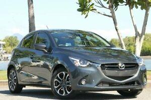 2015 Mazda 2 DJ2HA6 Genki SKYACTIV-MT Grey 6 Speed Manual Hatchback Bungalow Cairns City Preview